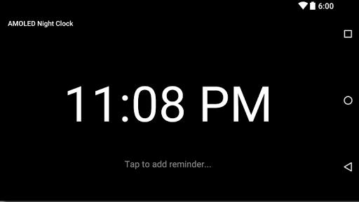 AMOLED Night Clock