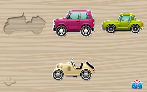fun car puzzles for kids screenshot thumbnail