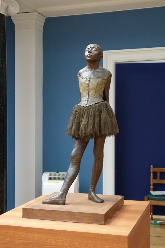Degas's dancer