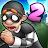 Robbery Bob 2: Double Trouble logo