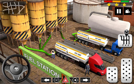 Cargo Delivery Truck Parking Simulator Games 2020 apkmr screenshots 7