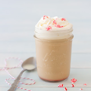 DIY Peppermint White Chocolate Mocha Recipe