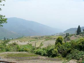 Photo: typische Landschaft, wenn auch diesig