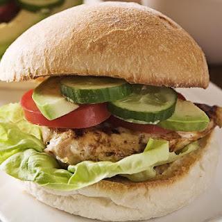 Quick Chicken Burgers.