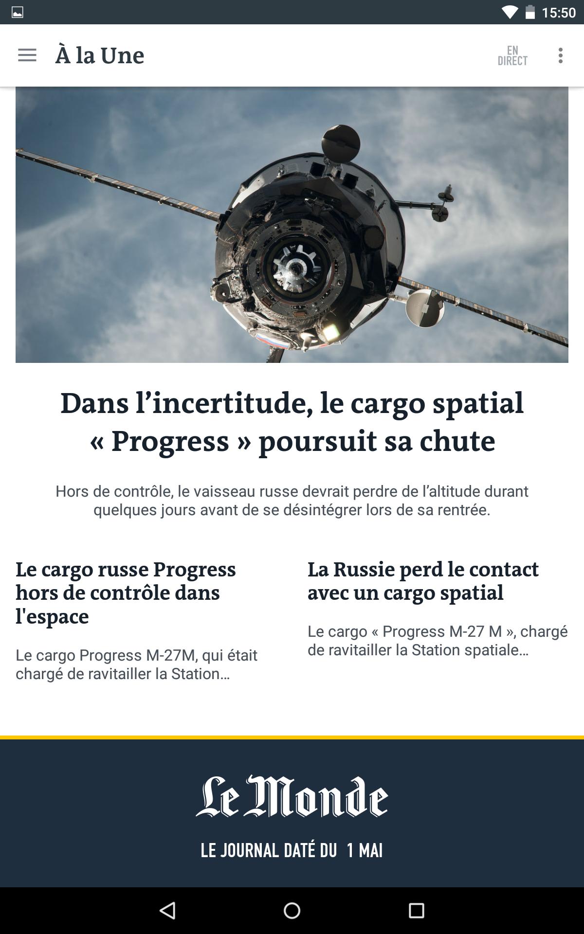 Le Monde, l'info en continu screenshot #16
