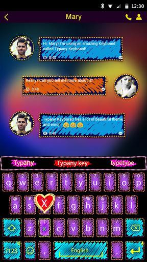 mod Doodle Style Typany Keyboard 4.5 screenshots 2
