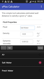 yPlus Calculator- screenshot thumbnail