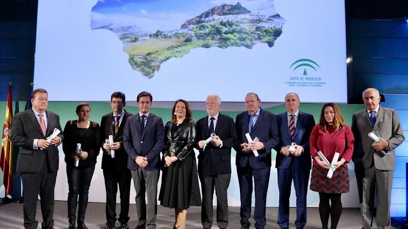 Imagen de los XIV Premios Agricultura y Pesca.