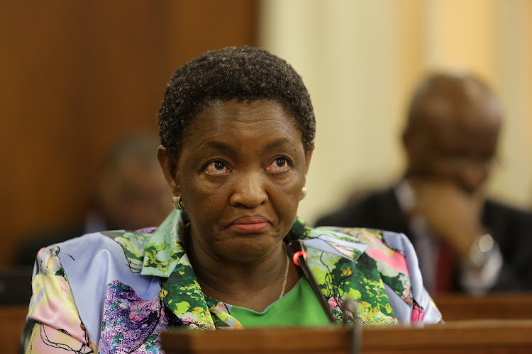 Bathabile Dlamini says her position is not a betrayal of victims of abuse because Mduduzi Manana would face the music in court. Picture: SUNDAY TIMES