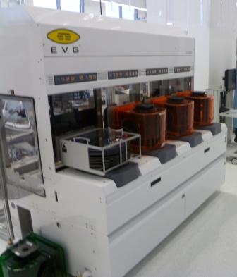 Photo: EVG's XT platform was designed for volume manufacturing.