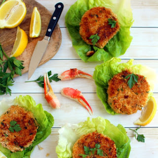 Light and Easy Crab Cakes.