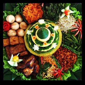 Tumpeng Rice by Raja Lazuardi - Instagram & Mobile iPhone