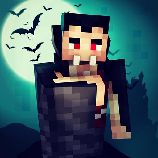 Vampire Craft: Dead Soul of Night. Crafting Games