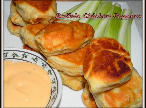 Buffalo Chicken Poppers Recipe