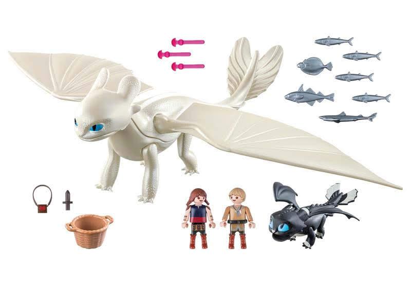 Contenido real de Playmobil® 70038 Set de Juego Furia Diurna