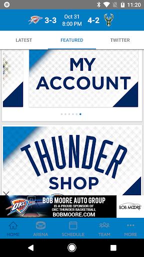 Oklahoma City Thunder 2.2.6 screenshots 2