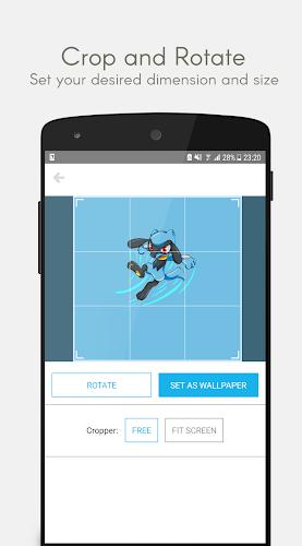 Poke Wallpapers Android App Screenshot