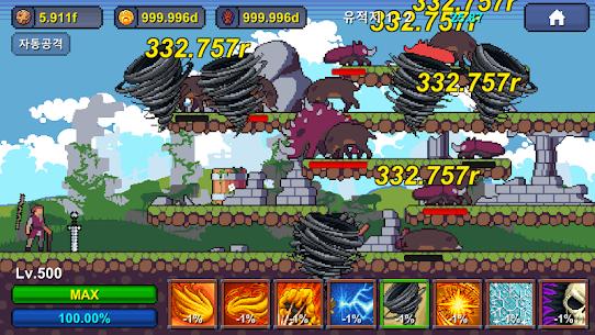 Grandpa RPG – Grow Pixel Wizard MOD (Unlimited Money) 5