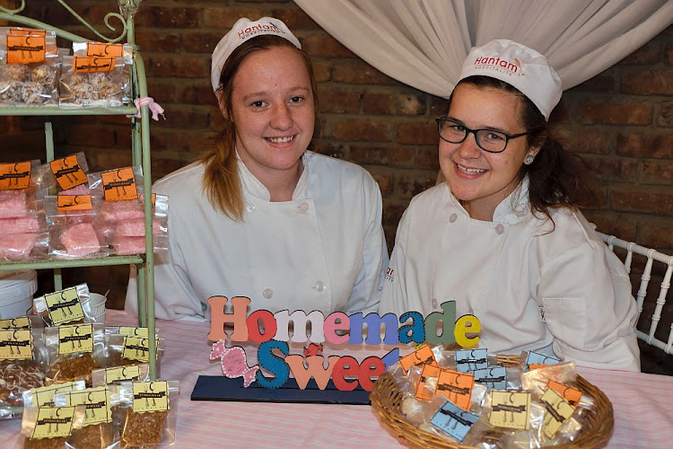 Hantam Trust hospitality students Anica Slabbert and Bianca Smith