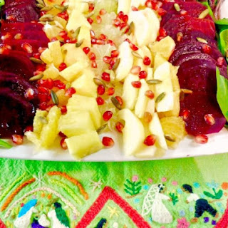 Ensalada de Nochebuena (Christmas eve salad).