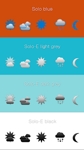 TCW weather icon pack 1- screenshot thumbnail