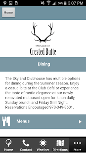 The Club at Crested Butte- screenshot thumbnail