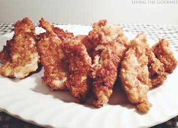 Pretzel Crusted Chicken Strips