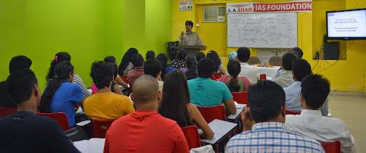 Photo: Guest Session by IRS Raghav Gupta at A A SHAH's Fort Branch