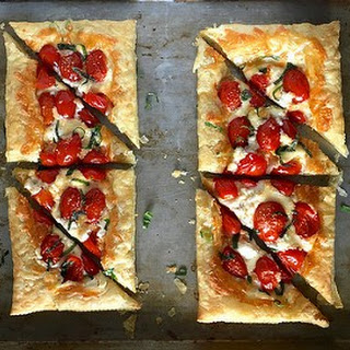 Tomato and Cheese Tarts