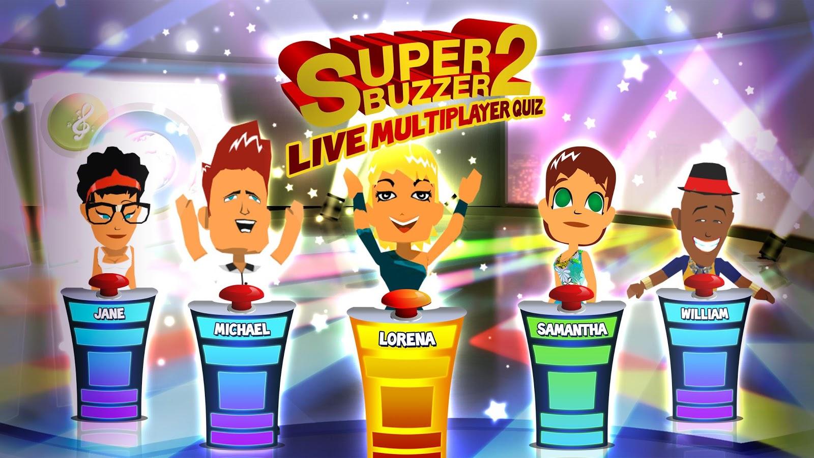 Quiz Superbuzzer 2- screenshot