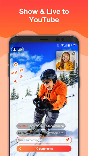 Screen Recorder For Game, Video Call, Online Video 1.2.9 screenshots 7