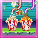 Caramel Popcorn Factory Chef Icon