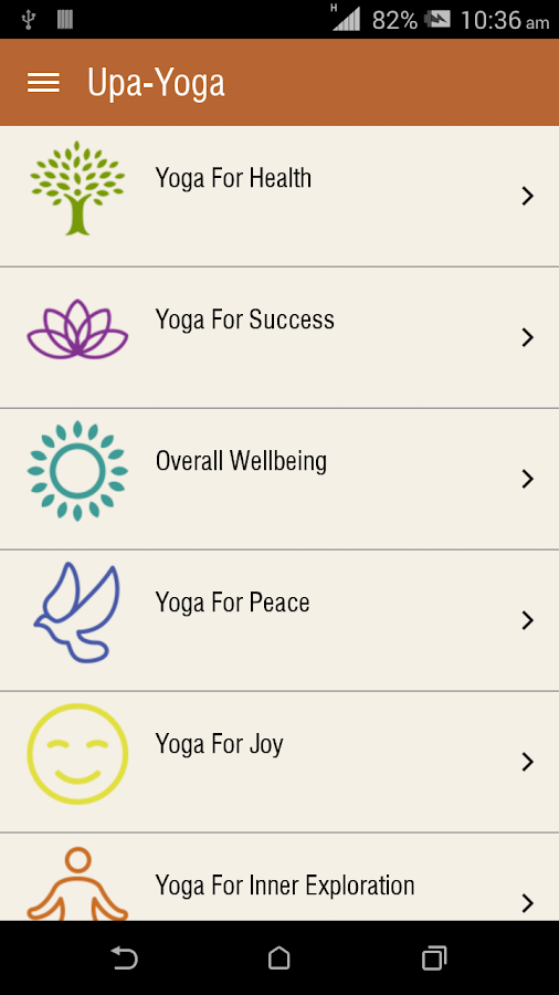 Yoga tools from Sadhguru- screenshot