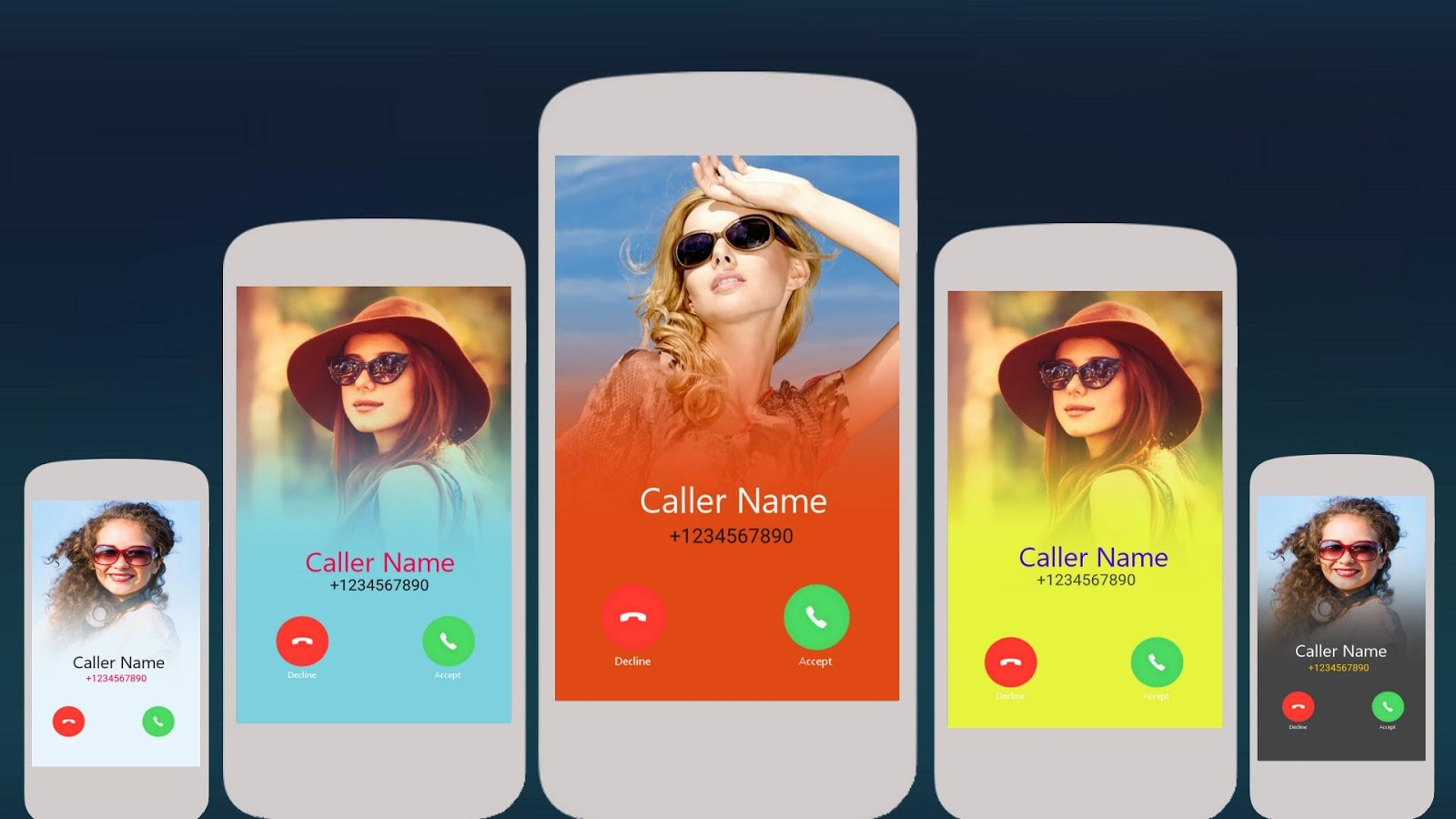 HD Caller ID Themes & Dialer- screenshot