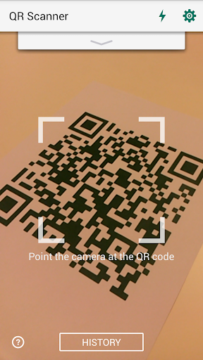 QR Code Reader and Scanner: App for Android screenshot 1