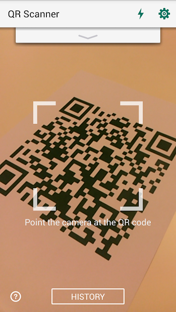QR Code Reader and Scanner: App for Android Android App Screenshot