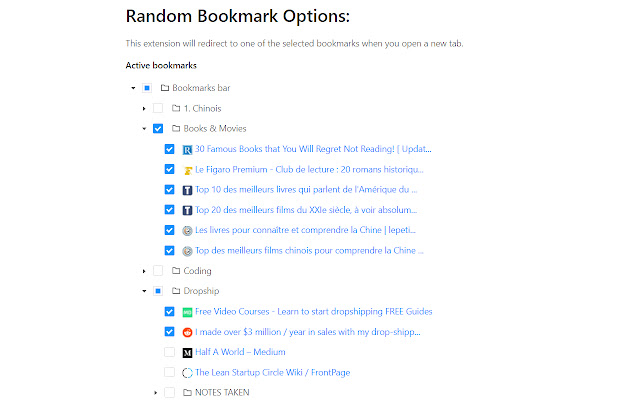 Random Bookmark