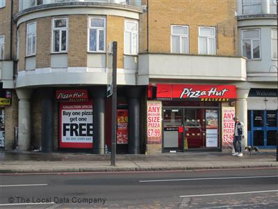 Pizza Hut Delivery On Stoke Newington High Street Pizza