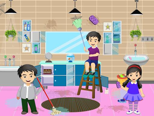 Pretend Play Hotel Cleaning: Doll House Fun 1.1.1 screenshots 6