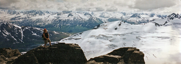 Photo: Girls Mtn.: Worthington Glacier/Thompson Pass
