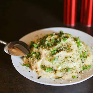 Smashed Potatoes - Asian Style.
