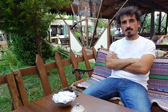 Photo: Barış Seyitvan, artist, the manager of Sümer Parkı Gallery in Diyarbakir, Diyarbakir 2013