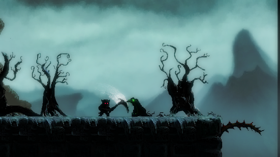 Mahluk: Dark demon - Retro horror platformer Screenshot