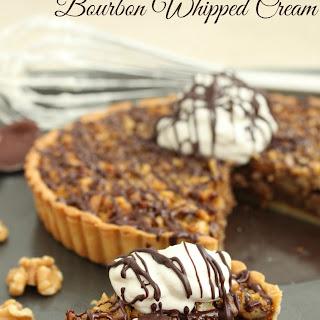 Vanilla Bean Bourbon Whipped Cream.
