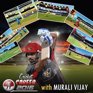 Cricket Career 2016 3.3 Android Mod + APK + Data 1