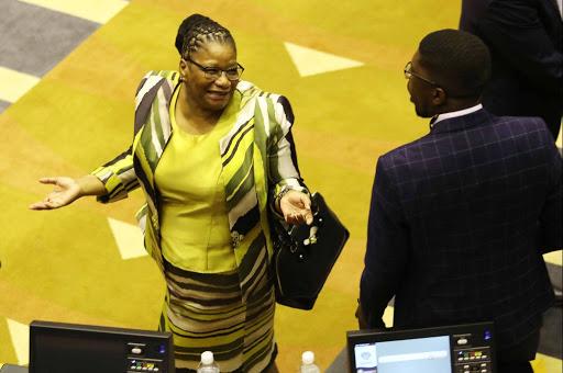 Thandi Modise becomes speaker as Cyril Ramaphosa gets his job back