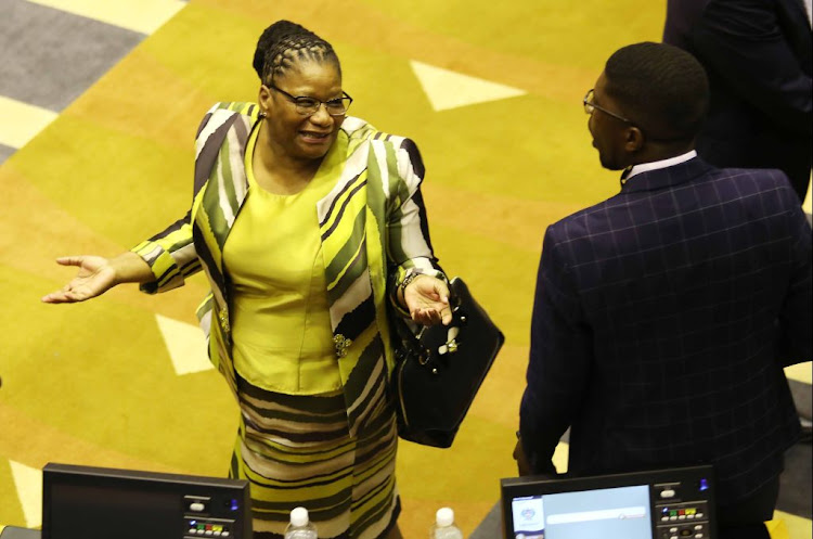 Thandi Modise was elected the new speaker of the National Assembly in Cape Town on May 22 2019.