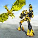Ultimate Dragon Robot Transform Battle War Game icon