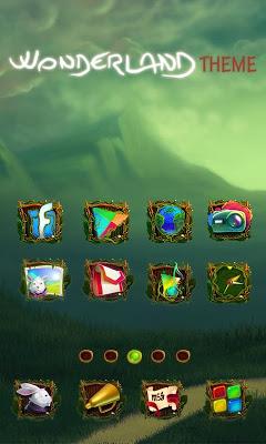 Wonderland Launcher - screenshot