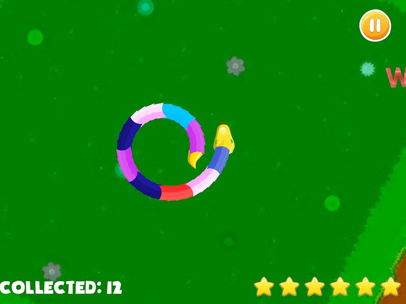 Скриншот Jobstick Snake (Змейка)